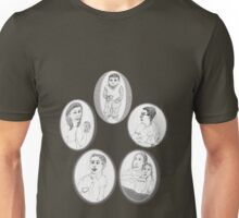 2 siblings and a few cousins... Unisex T-Shirt