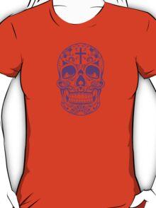 Sugar Skull Purple T-Shirt