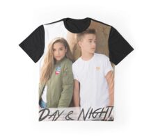Day And Night - Johnny Orlando and Mackenzie Ziegler Graphic T-Shirt