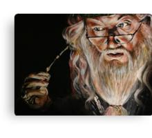 Dumbledore :: Harry Potter Inspired Fan Art Canvas Print