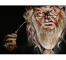 Dumbledore :: Harry Potter Inspired Fan Art Photographic Print