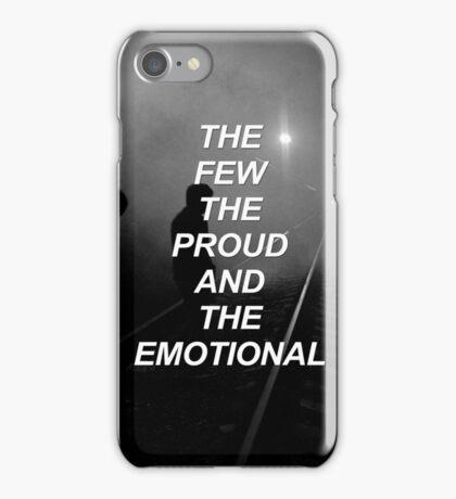 The few, the proud, the emotional Tøp {SAD LYRICS} iPhone Case/Skin