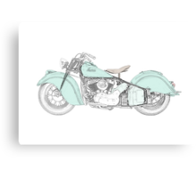 Indian Chief Motorcycle 1948  Canvas Print