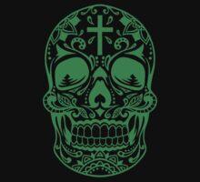 Sugar Skull Green by HolidaySwagg
