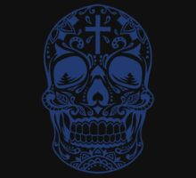 Sugar Skull Blue by HolidaySwagg