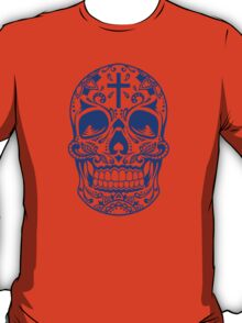 Sugar Skull Blue T-Shirt