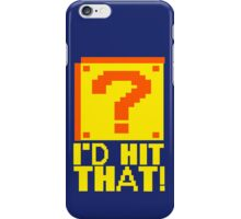 I Shoot People T-ShiI'd Hit That T-Shirt Question Mark Video Game TEE Geek Nerd Gamer Funny Humor iPhone Case/Skin