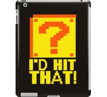 I Shoot People T-ShiI'd Hit That T-Shirt Question Mark Video Game TEE Geek Nerd Gamer Funny Humor iPad Case/Skin