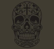 Sugar Skull Black by HolidaySwagg