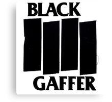 Black Gaffer Canvas Print