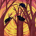 Tri Corbies by Thunar
