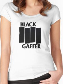 Black Gaffer Women's Fitted Scoop T-Shirt
