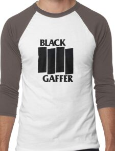 Black Gaffer Men's Baseball ¾ T-Shirt