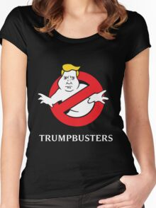 Trump Busters  Women's Fitted Scoop T-Shirt