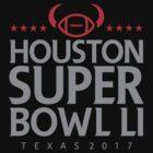 Super Bowl LI 2017 horns blk by Jimmy Rivera