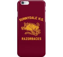 Sunnydale Razorbacks (Accurate Artwork) iPhone Case/Skin