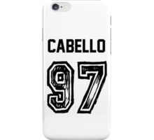 Cabello '97 iPhone Case/Skin