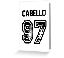 Cabello '97 Greeting Card