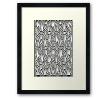 Grey Design (1426  Views) Framed Print