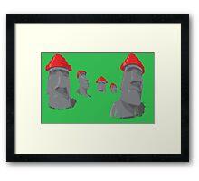 Monumental Band Series - Are We Not Men? Framed Print