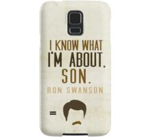I Know What I'm About, Son Samsung Galaxy Case/Skin