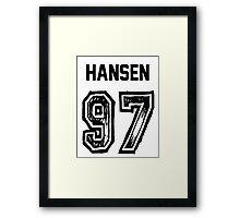 Hansen'97 Framed Print