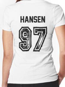 Hansen'97 Women's Fitted V-Neck T-Shirt