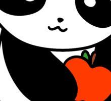 Apple Panda Sticker