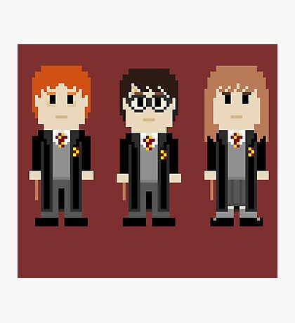 8-Bit Wiz Kids Photographic Print