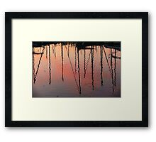 Nautical Series V1 Framed Print
