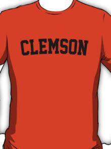 Clemson Jersey Black T-Shirt