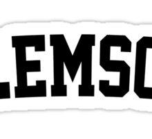 Clemson Jersey Black Sticker