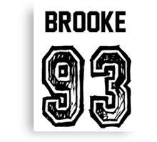 Brooke'93 Canvas Print