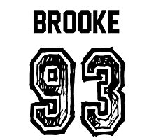 Brooke'93 Photographic Print