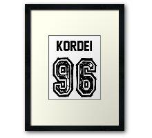 Kordei'96 Framed Print