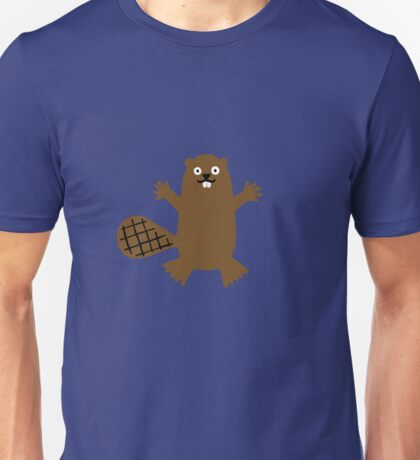 Hug Beaver Hugimal Unisex T-Shirt