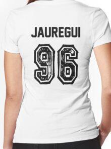 Jauregui'96 Women's Fitted V-Neck T-Shirt