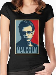 ian malcolm chaos Women's Fitted Scoop T-Shirt
