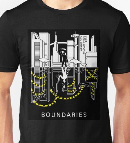Boundaries Original Design: Breaking the Boundaries Unisex T-Shirt