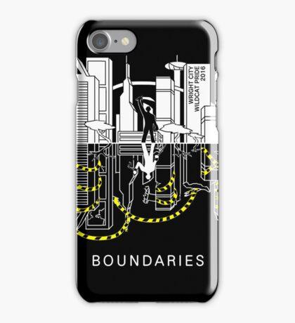 Boundaries Original Design: Breaking the Boundaries iPhone Case/Skin