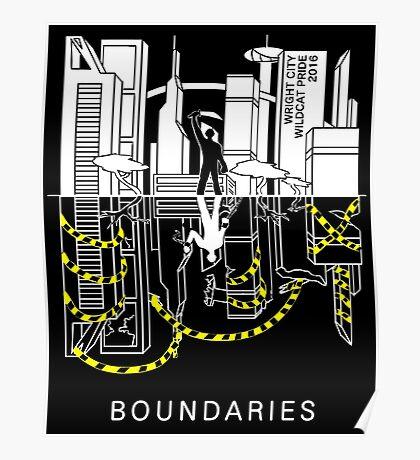 Boundaries Original Design: Breaking the Boundaries Poster