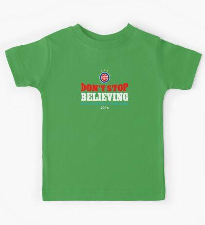 Chicago Cubs Believing Kids Tee