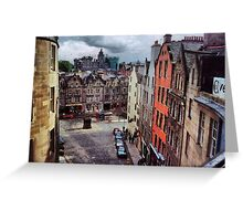 Laneways and Back Streets Greeting Card