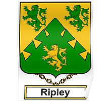 Ripley Coat of Arms (English) Poster