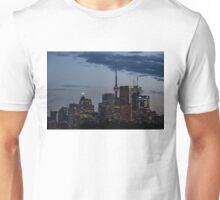Toronto Skyline at Dusk Unisex T-Shirt