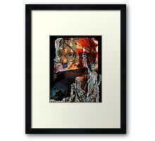 Pride in a hand well played. Framed Print