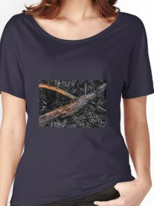 The depths of the forest and snag Women's Relaxed Fit T-Shirt