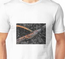 The depths of the forest and snag Unisex T-Shirt