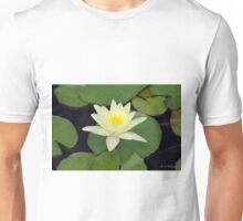 Peaceful Lotus Flower Unisex T-Shirt