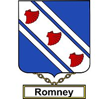 Romney Coat of Arms (English) Photographic Print
